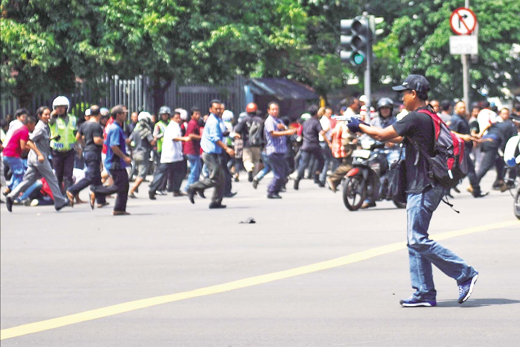 印尼雅加達連環爆炸