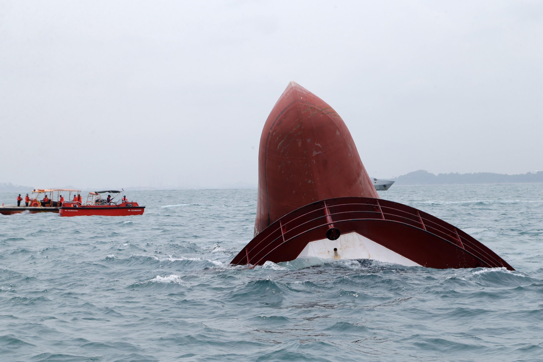 印尼載有百人客輪沉沒
