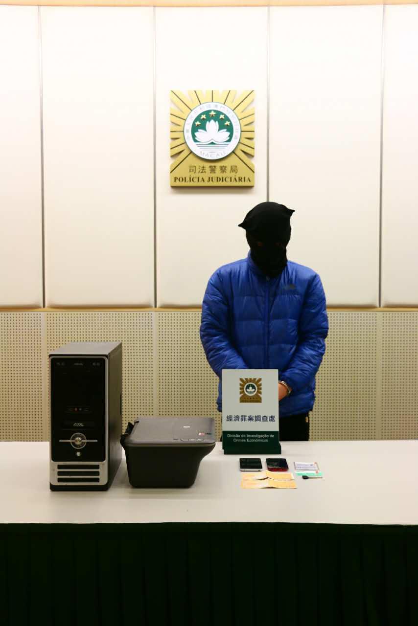22歲男印假鈔買手機套現被捕