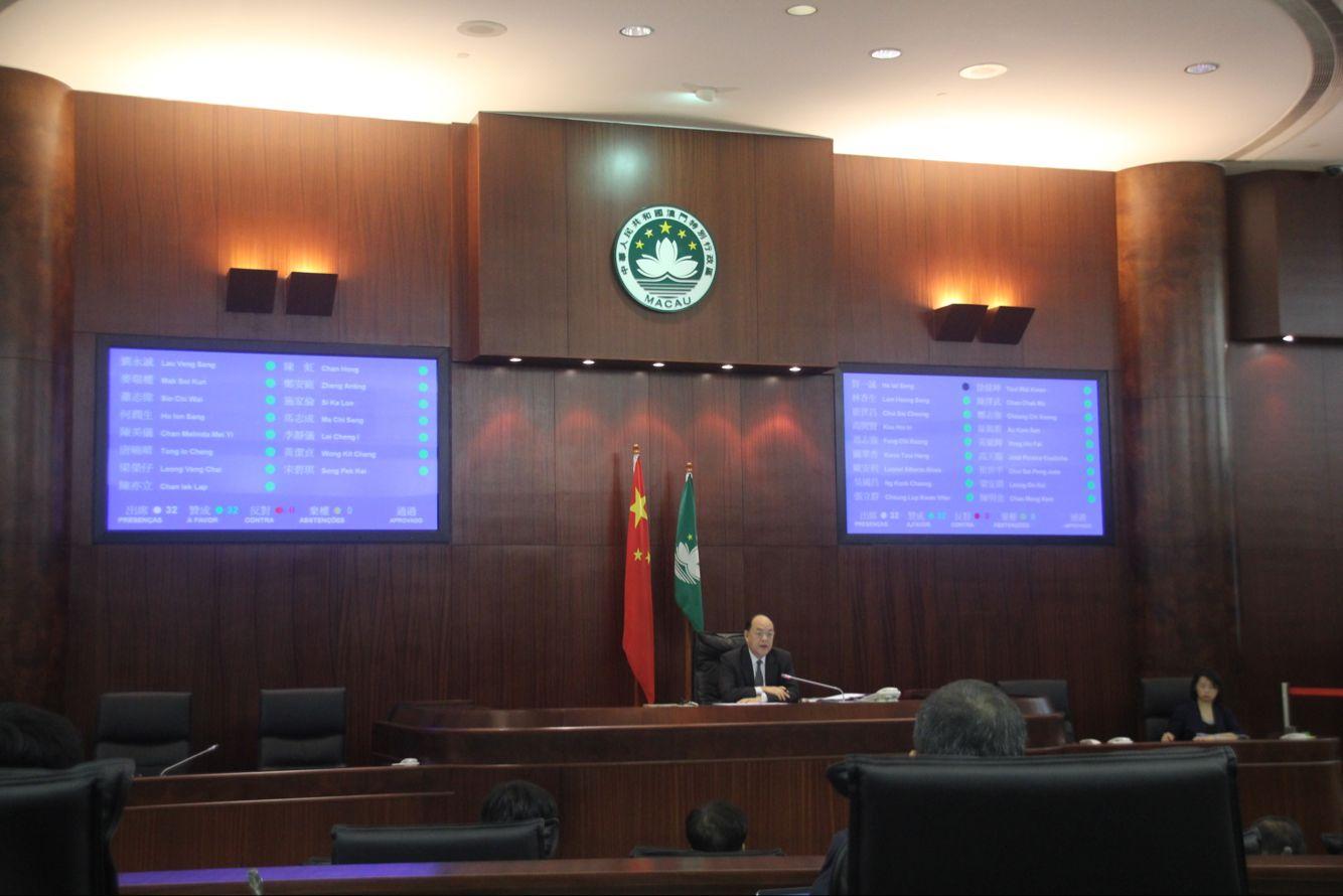 立法會通過明年財政預算案