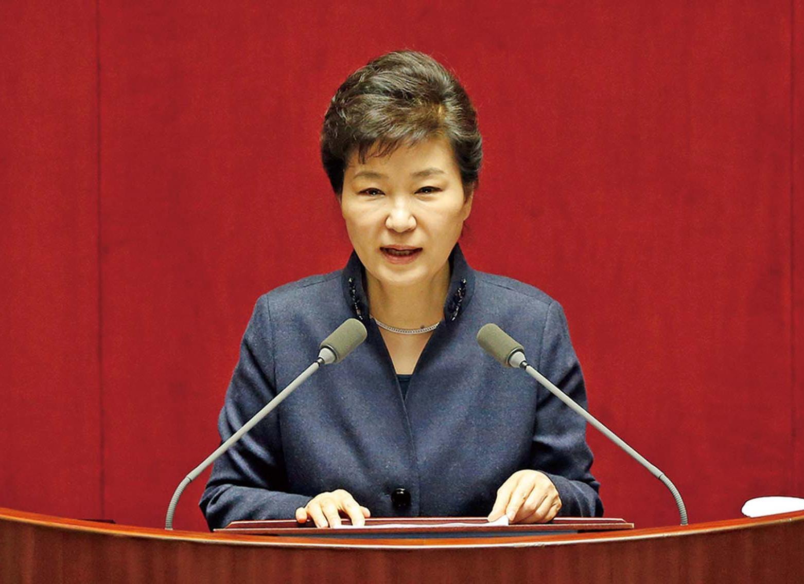 朴槿惠:金正恩政權「暴走中」