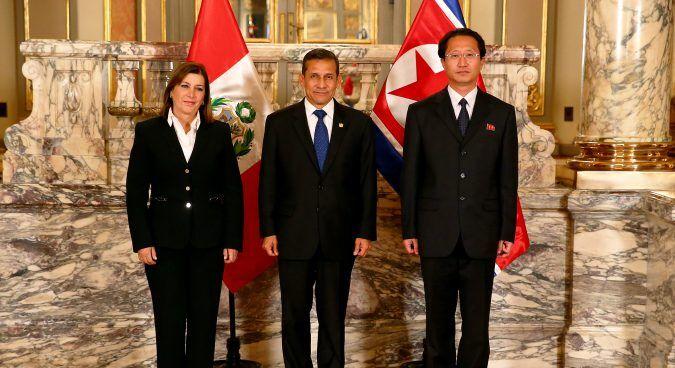 秘魯限朝鮮大使五日內離境