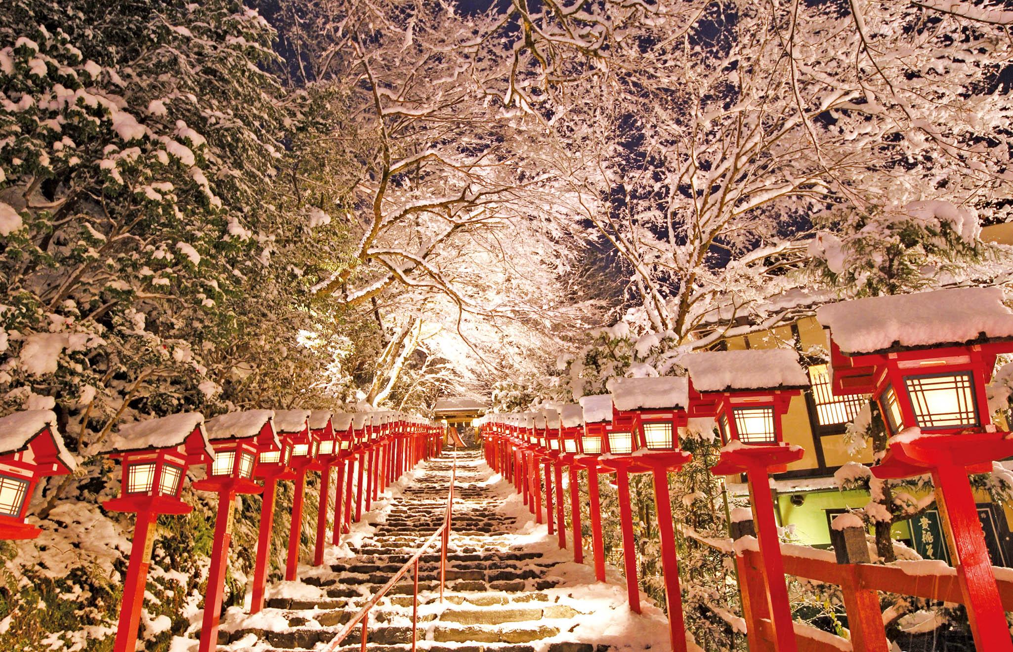 京都神社夜間點燈