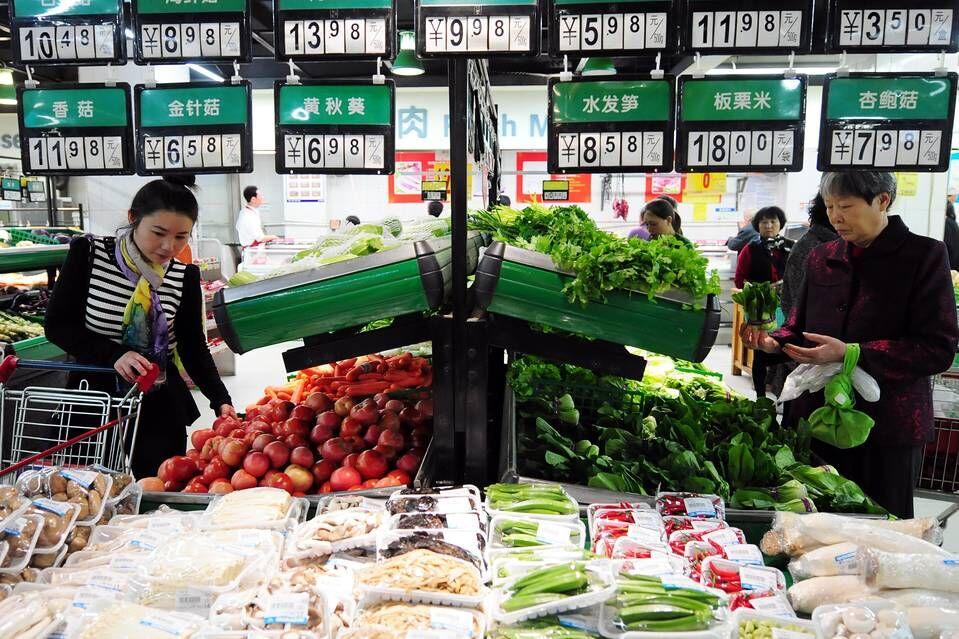 中國1月CPI升2.5%略高預期