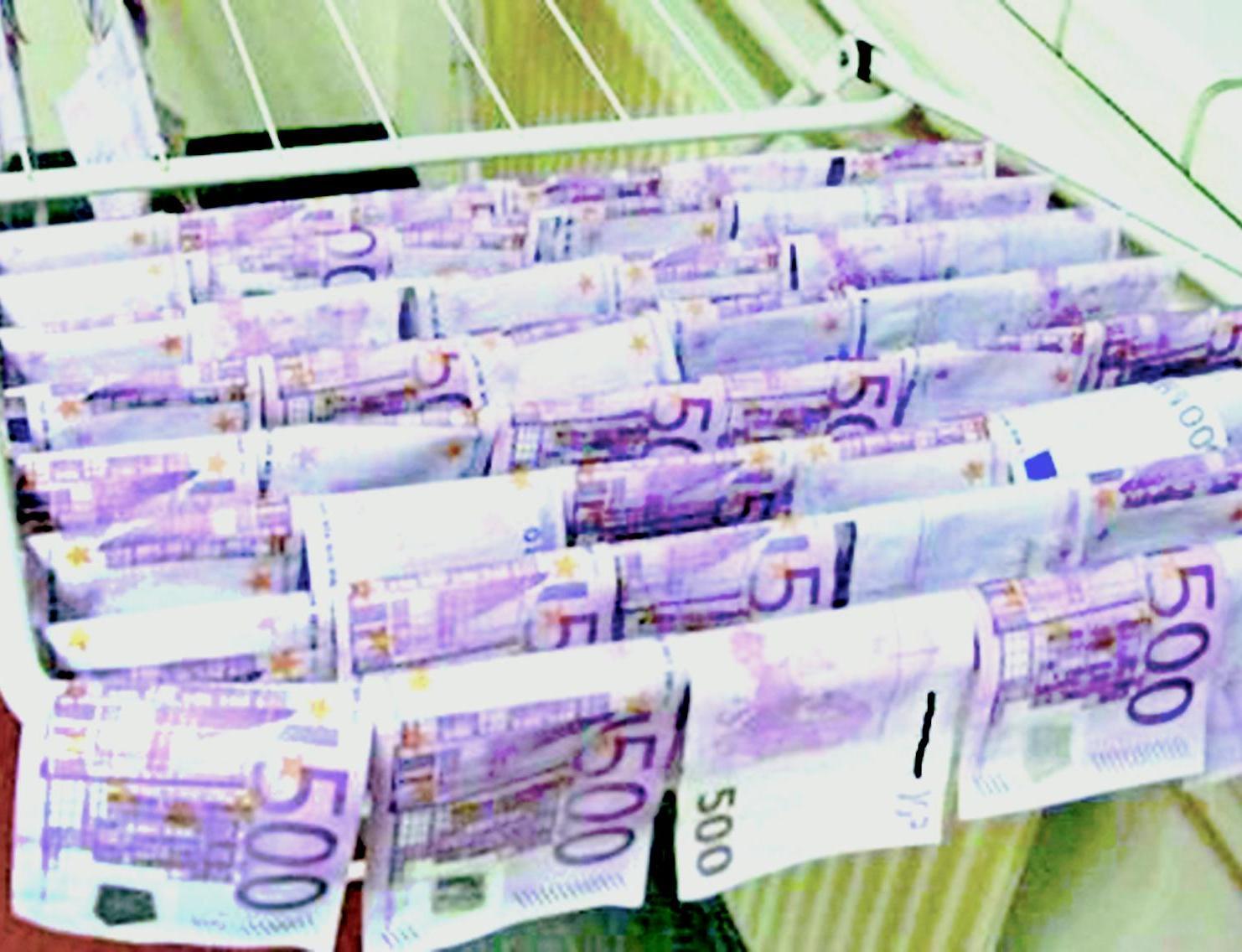 多瑙河驚現大量現鈔