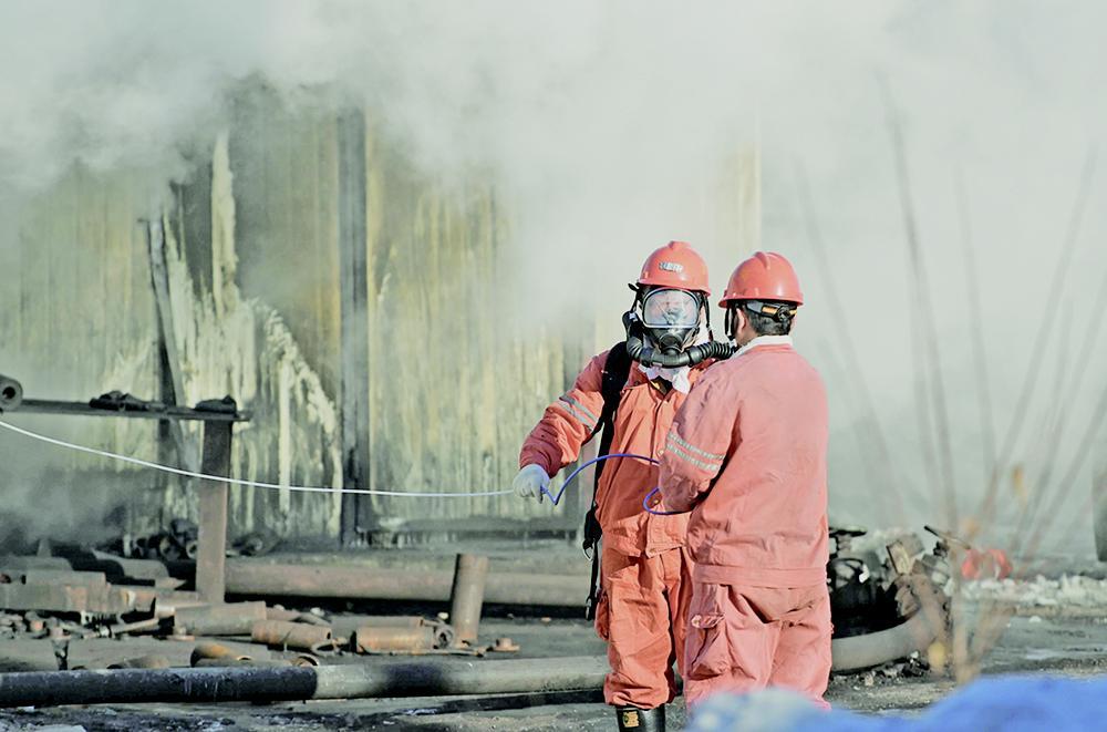 黑龍江煤礦爆炸