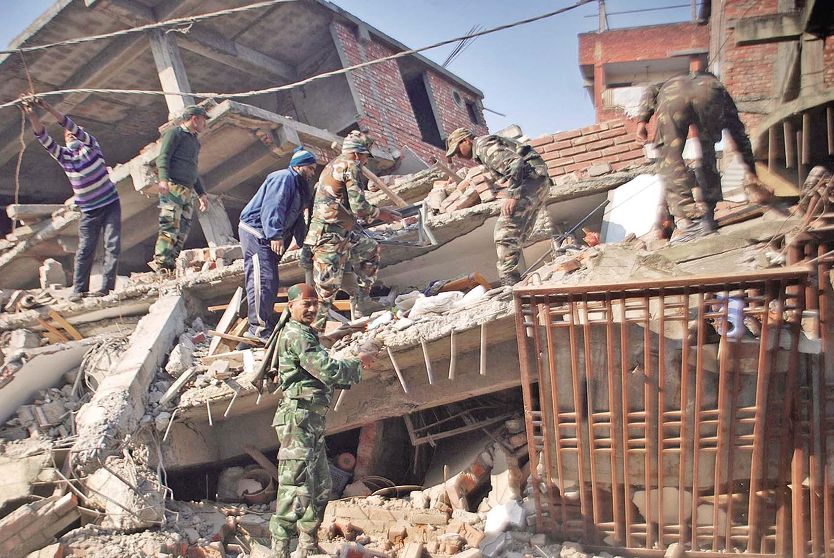 印緬邊境6.8級地震