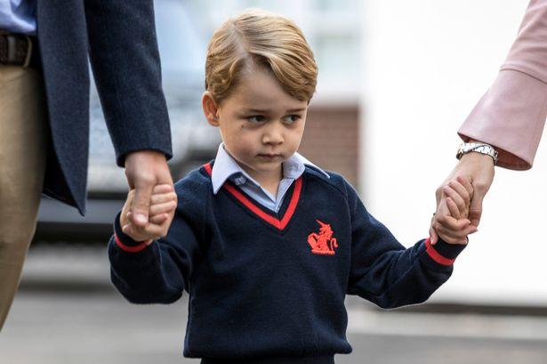喬治小王子已經唔想返學