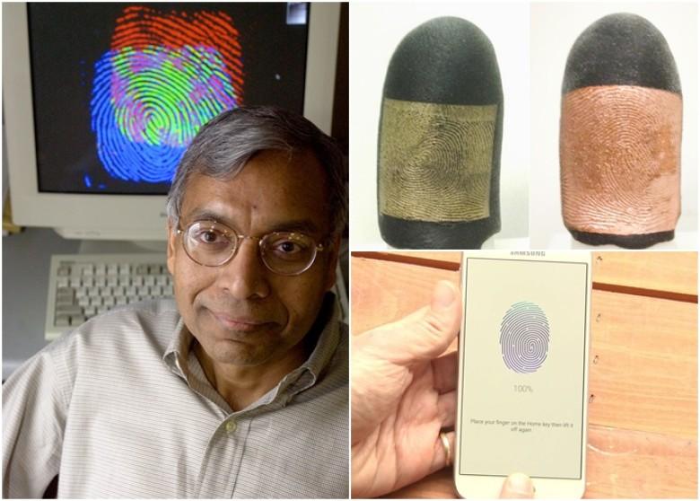 美科學家助警解鎖指紋上鎖手機