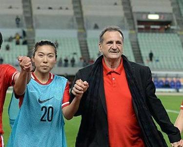 中國女足挫韓妹進軍奧運