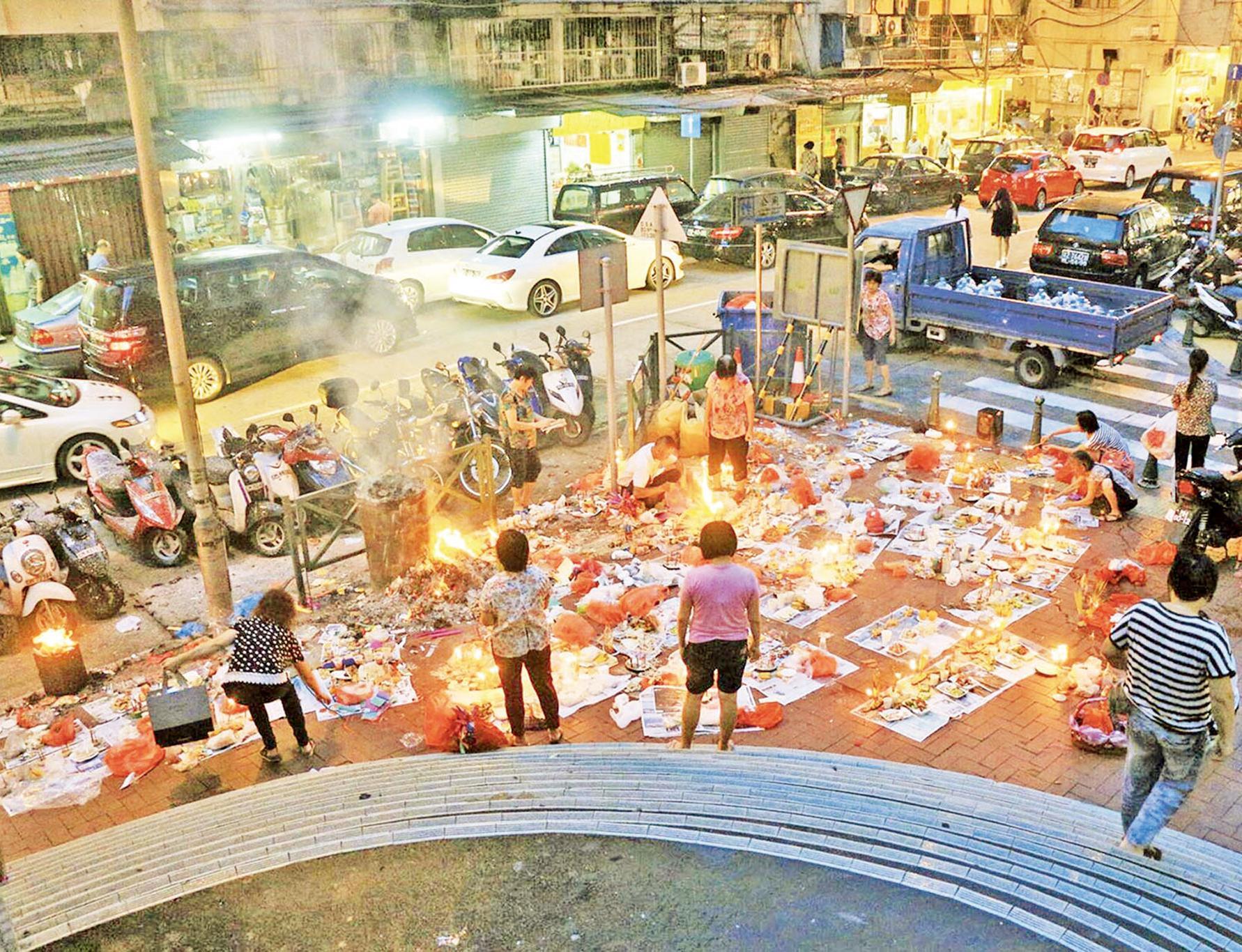民署籲市民使用燒衣桶