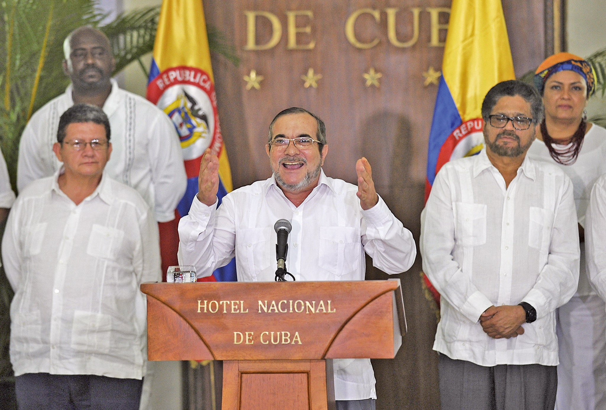 哥倫比亞迎和平之日