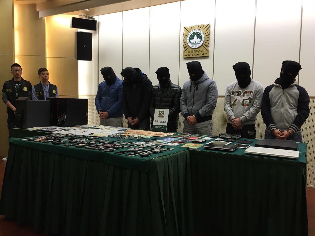 六警濫權犯罪被捕