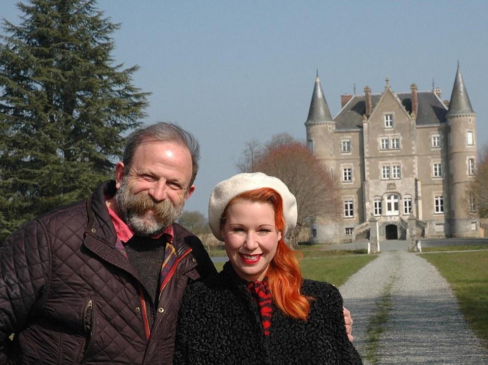 在法國買下城堡