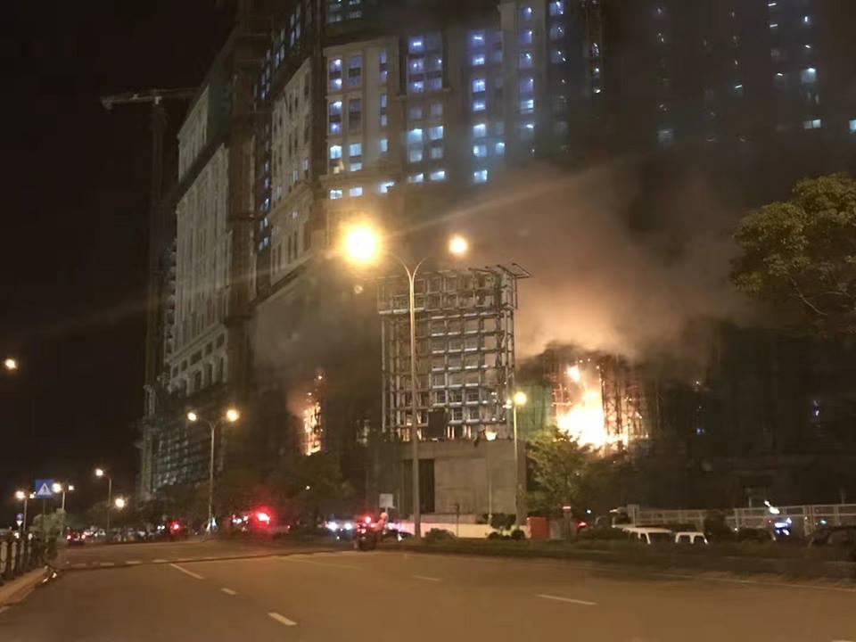 梁安琪:火警影響上葡京開幕日期