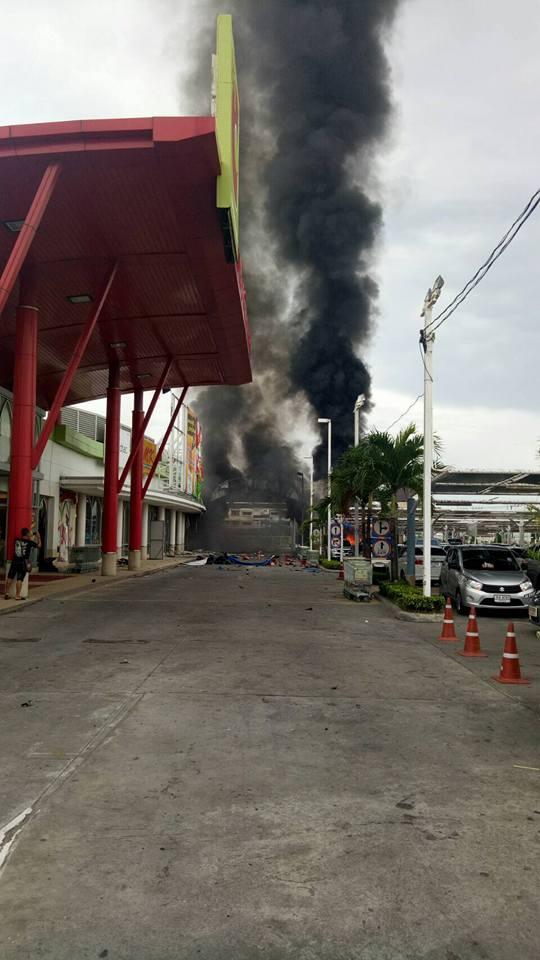 泰國購物中心接連爆炸40傷