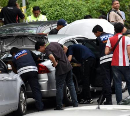 吉隆玻警匪槍戰 四劫匪被擊斃
