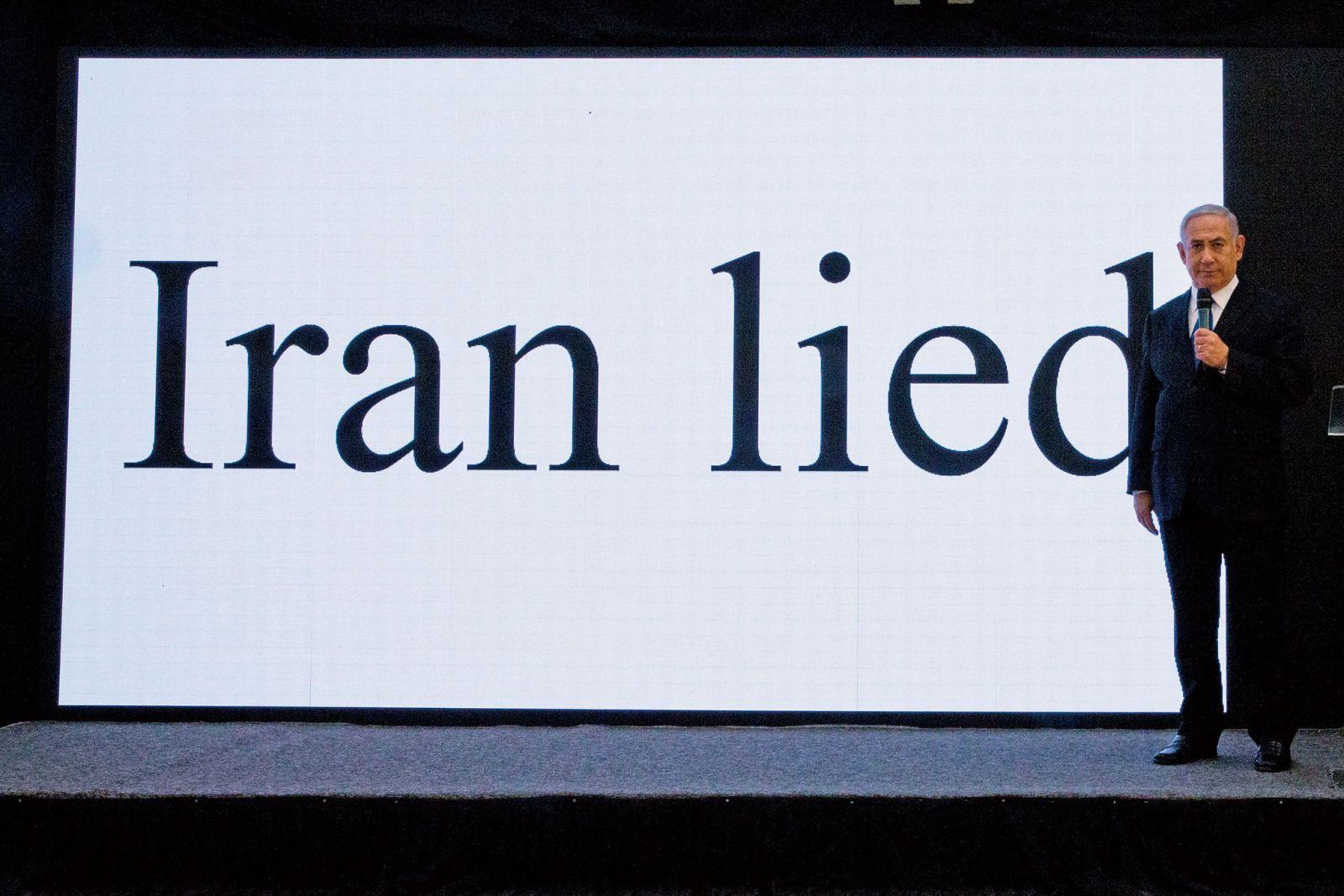 以色列指控伊朗說謊