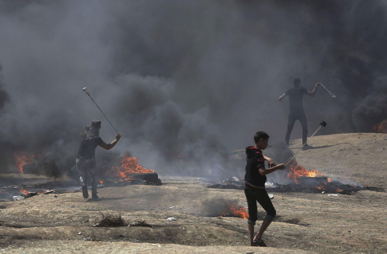 以軍實彈鎮壓 巴人41死1,700傷