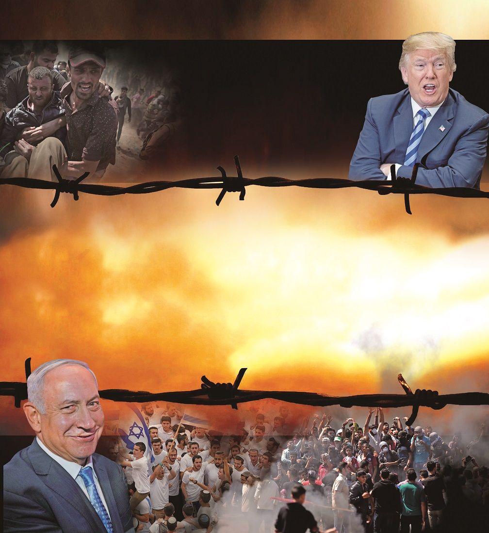 加沙流血示威41死