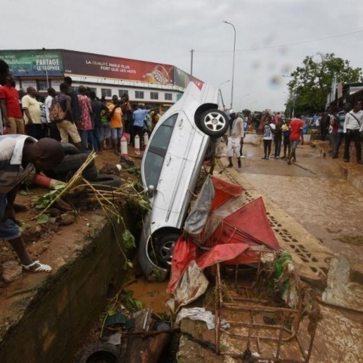 科特迪瓦暴雨成災至少18死