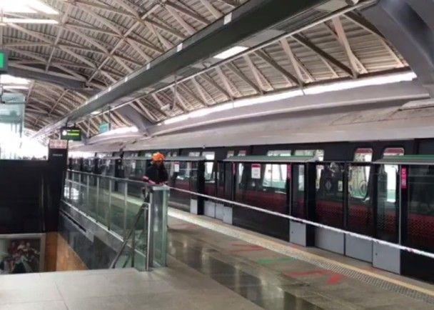 新加坡地鐵追尾相撞釀25傷