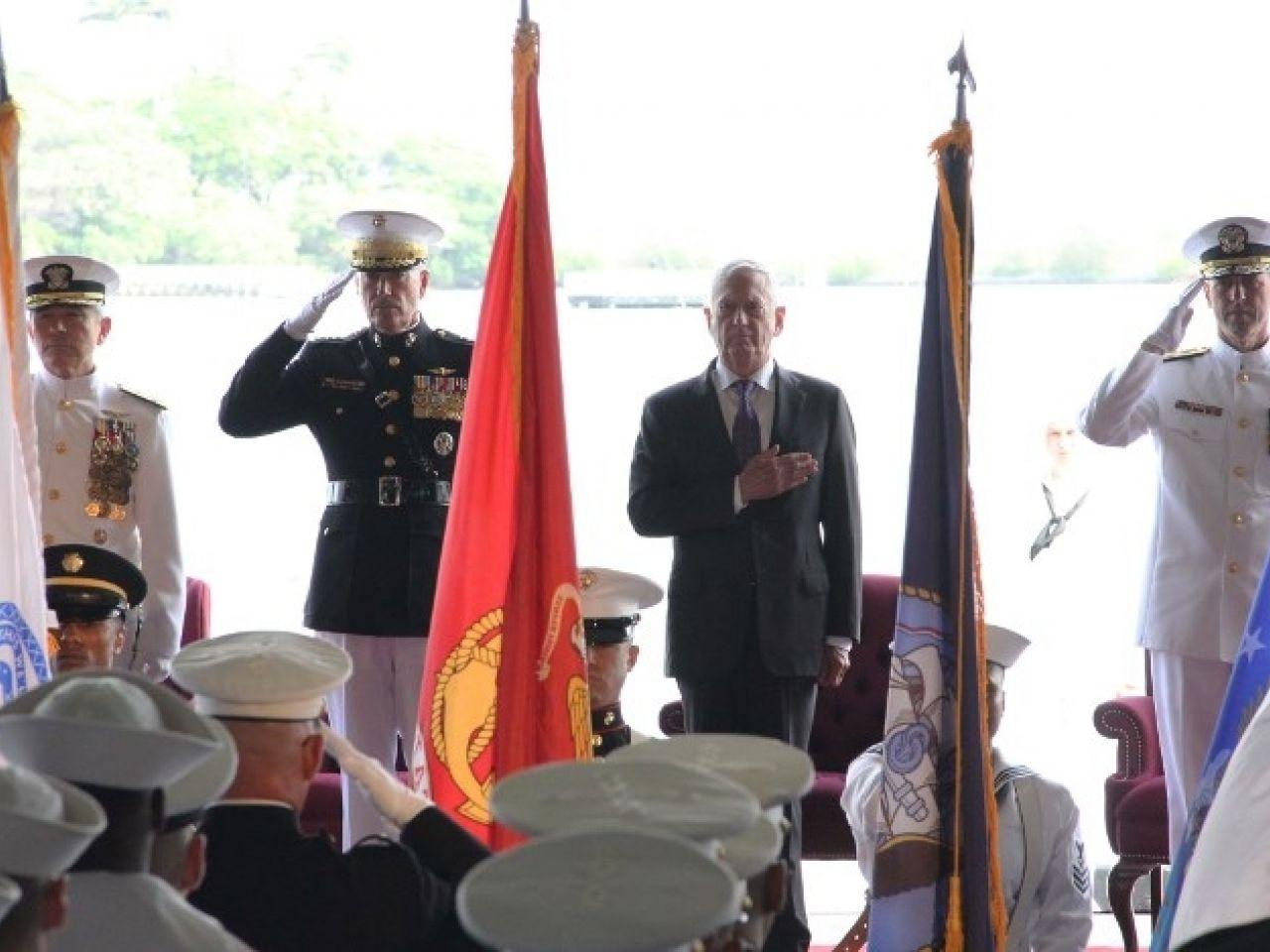 美軍太平洋司令部改名印太司令部