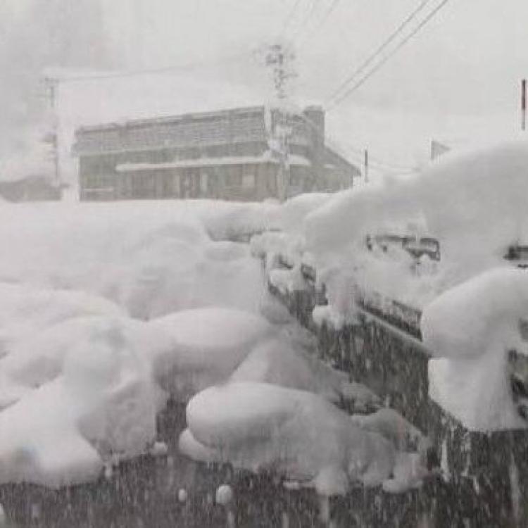 山形縣積雪破4.3米