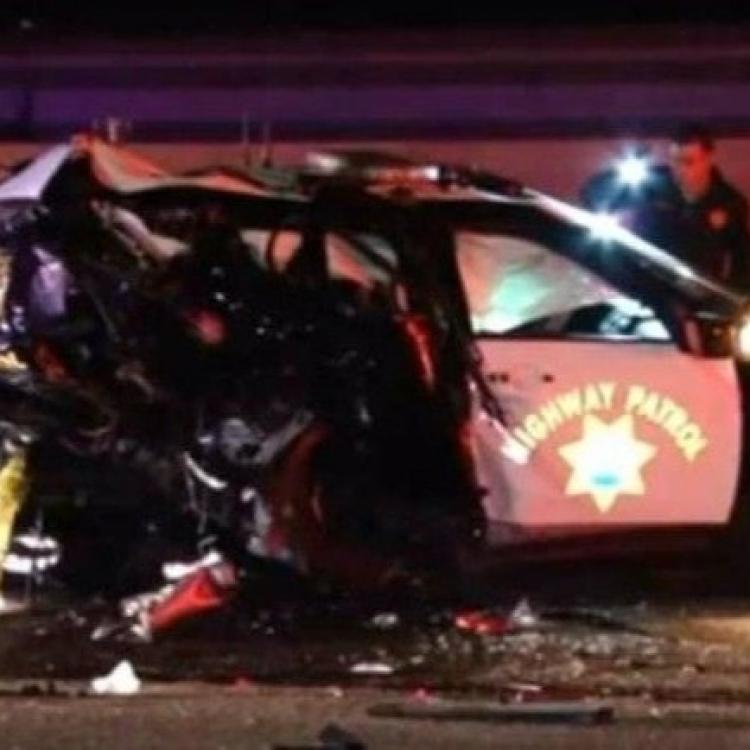 加州男駕車撞死公路巡警