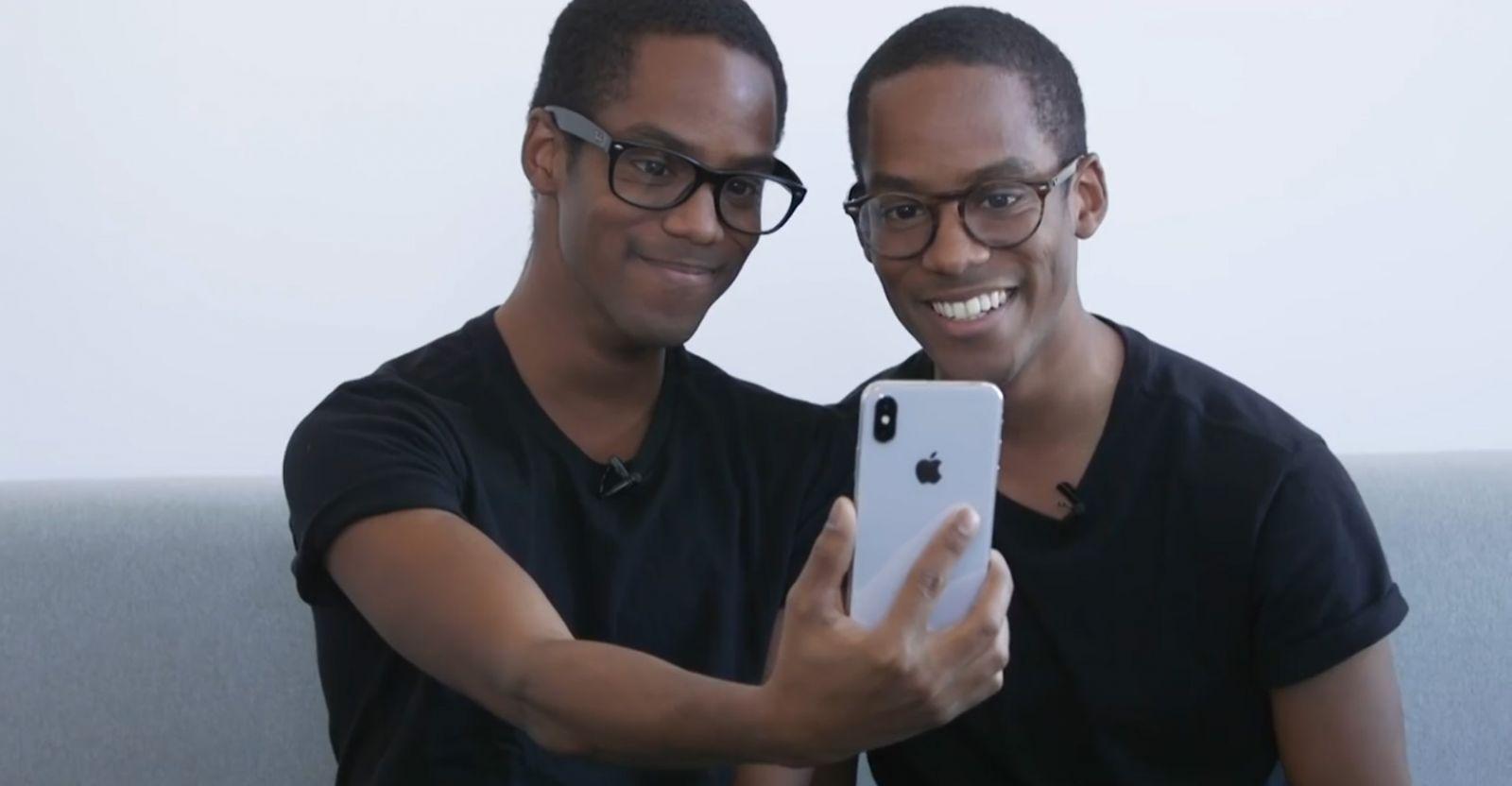 雙胞胎實測Face ID 結果...