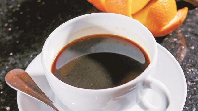 橙系咖啡特調