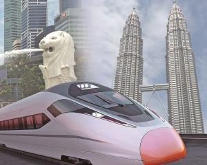 只建馬來西亞新山至新加坡段