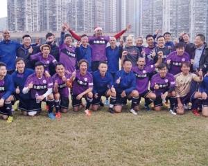 港隊贏馬來西亞捧大獎盃