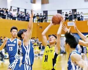 粵華培華晉級男A籃球4強