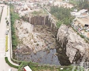 直擊 石排灣「大峽谷」養蚊池