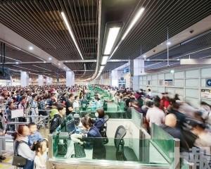 旅客量隨時空不同改變