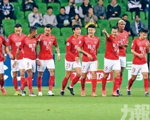 亞冠盃F組恒大各一遭勝利迫和