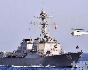 中國軍方:依法警告驅離
