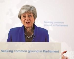 文翠珊力保脫歐協議再讓步:願辦二次公投