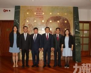 江門會訪譚司介紹「少年中國說」中華詩詞大會