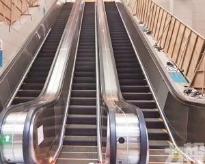 關閘新扶手電梯下周一啟用