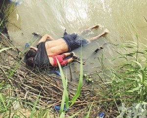 移民父女渡河慘死美墨邊境