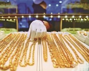黃金銷售 雙位數下降