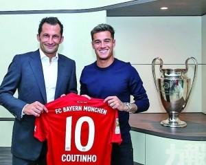 古天奴由巴塞外借至拜仁一季