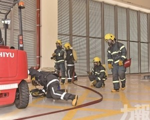 模擬火警事故緊急疏散