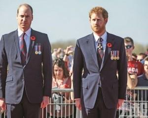 哈里王子坦承與威廉不和