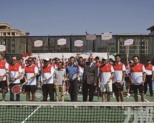 深圳捧大灣區網球團體賽冠軍