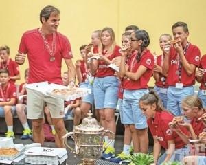 費天王10奪瑞士賽錦標