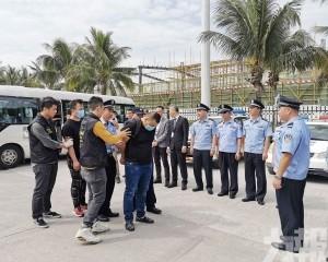 40內地嫌犯移送珠海審訊