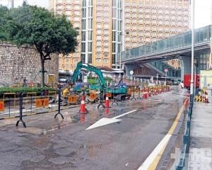涉主幹道工程按序或提早竣工